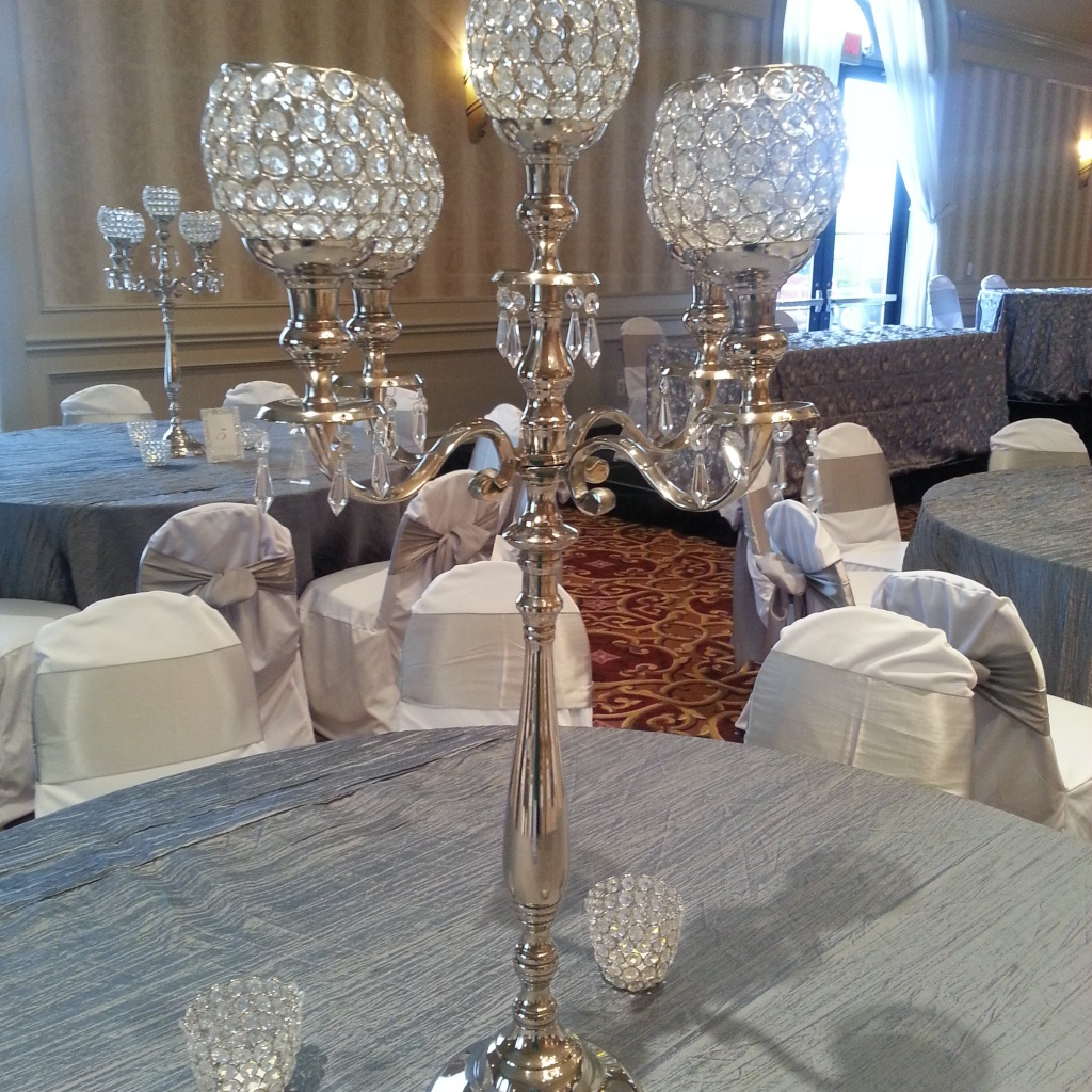 Centerpieces couture linens events chair covers linens home mozeypictures Choice Image